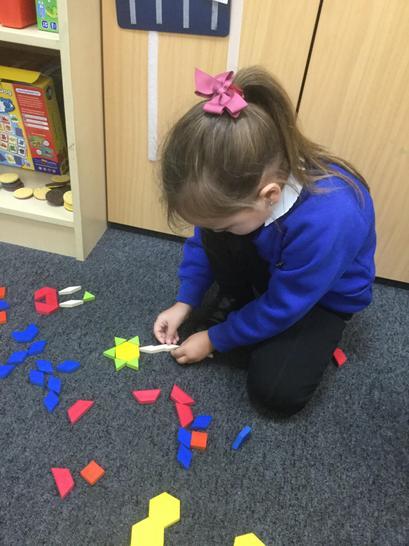 Making geometric patterns