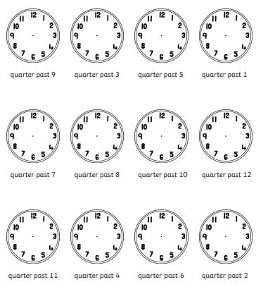 Quarter Past (C) Twinkl