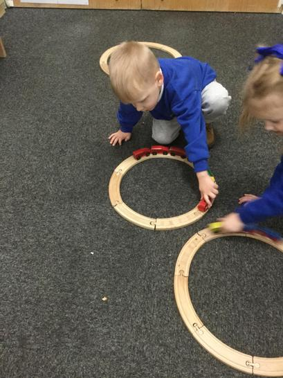 building tracks and friendships