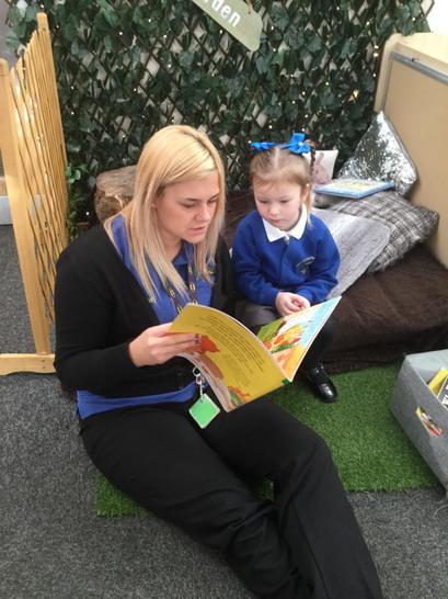 Reading garden