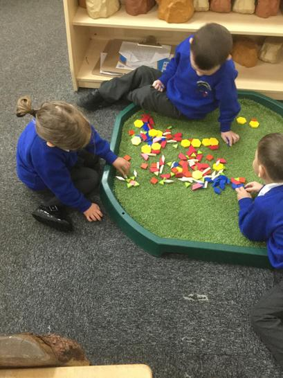 exploring with geo pattern shapes in the provision