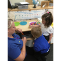 Categorising in the maths area