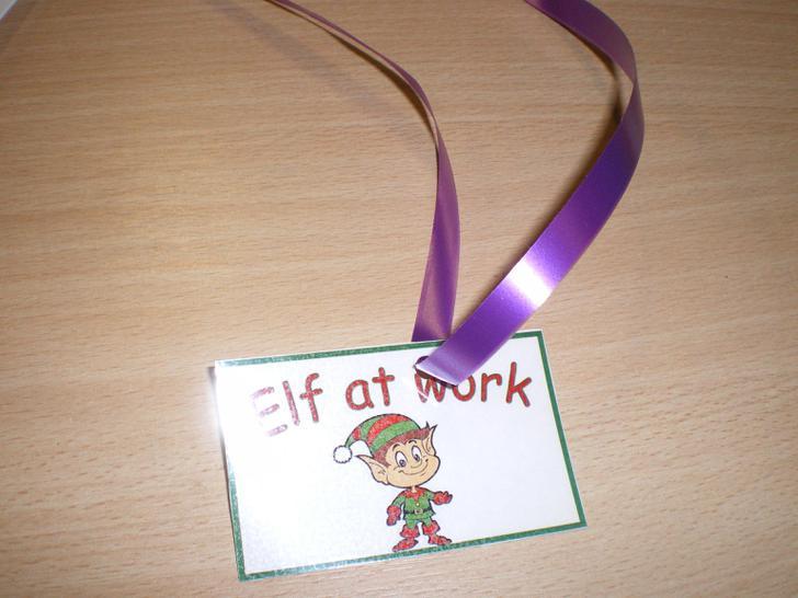 The elf badges