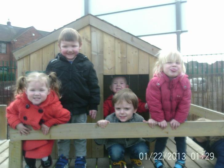 We love outdoor play