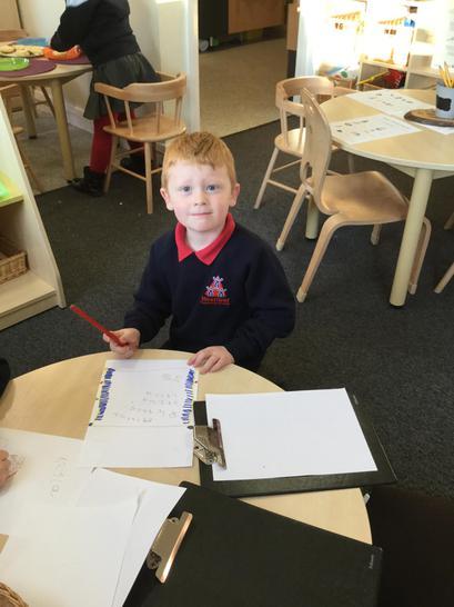 Enjoying writing using the clipboards