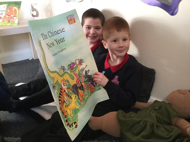 Reading the Chinese New Year story