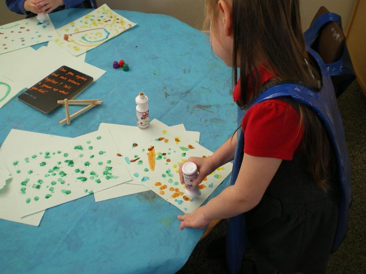 Charlotte explores colour