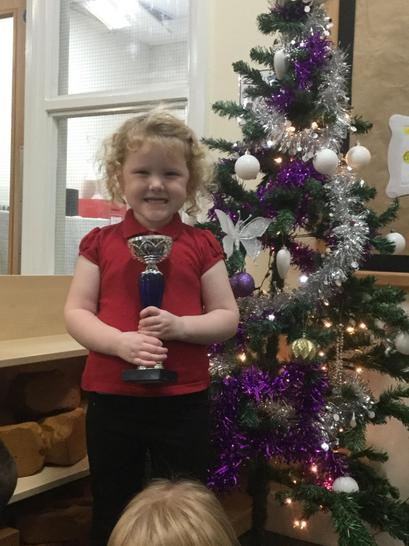 Well done for being awarded 'Dancer of the Week'