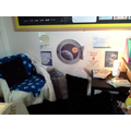 Year 2F's Out of this World Reading Corner