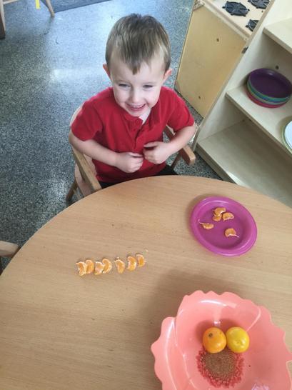 Peeling our own fruit