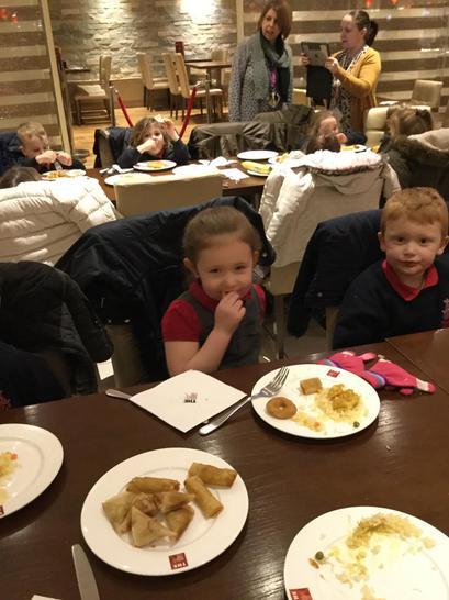 We loved prawn toast