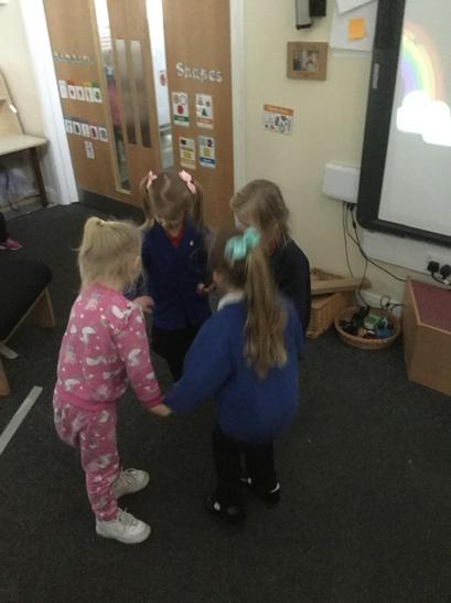 dancing to nursery rhymes