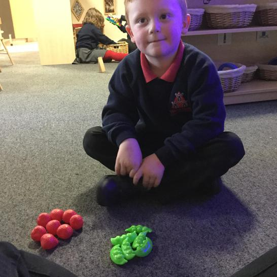 Adding two groups of objects together