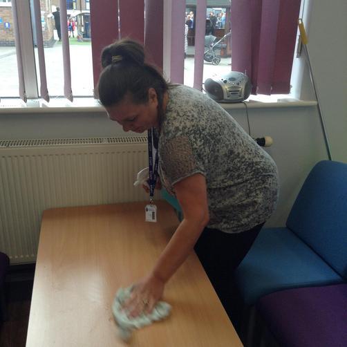 Mrs Barnes - Cleaner