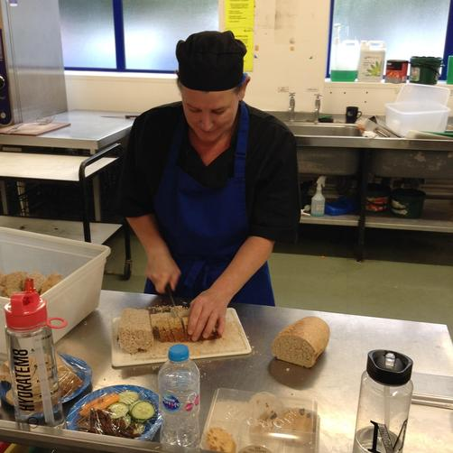 Miss Mason - Catering Assistant