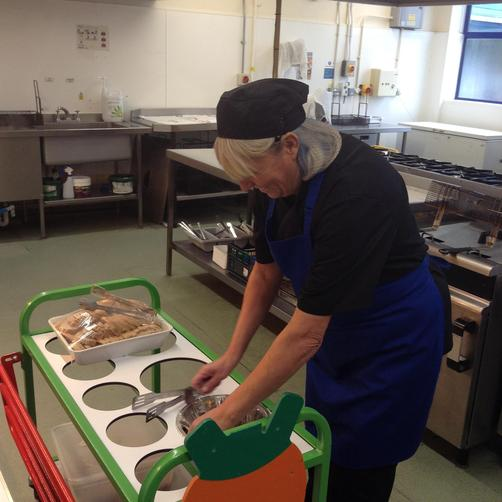Miss Freeman - Catering Assistant