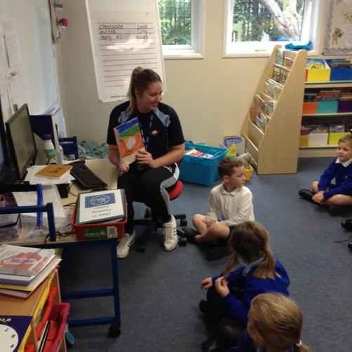 Miss Ellis - Teacher