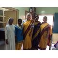 In our Sari's