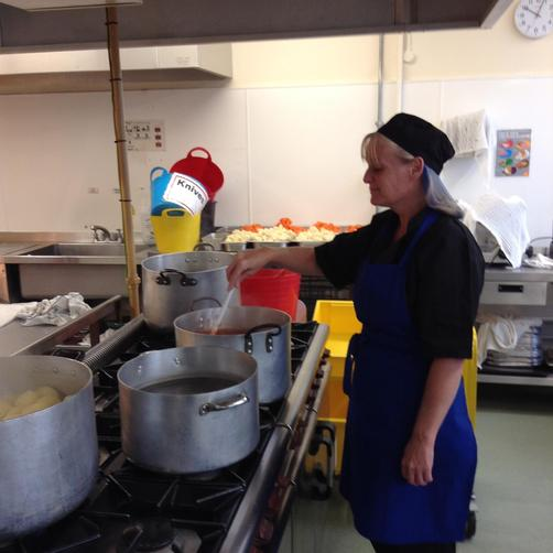 Mrs Walters - Catering Assistant