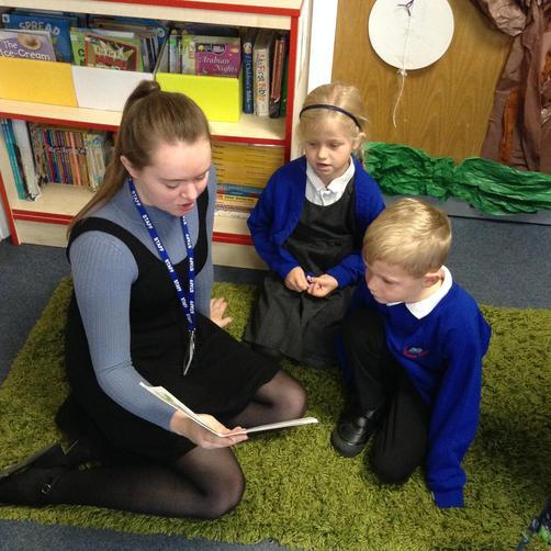 Miss Robinson-Teacher