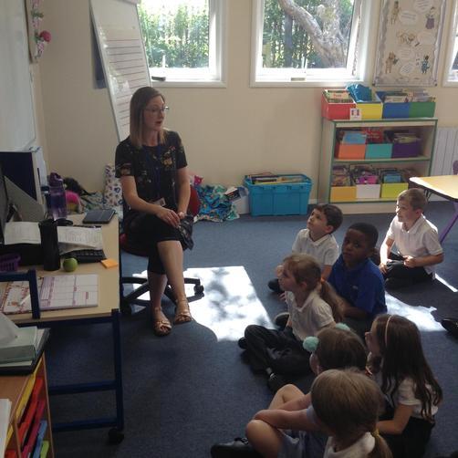 Mrs Guest - Teacher