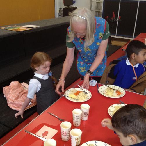 Mrs Hamilton - Lunchtime Supervisor