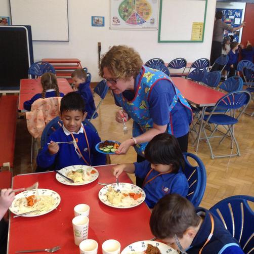 Mrs Toms - Lunchtime Supervisor