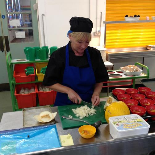 Miss Urquhart - Catering Assistant