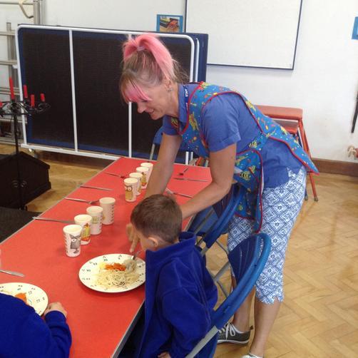 Miss Tonks- Lunchtime Supervisor