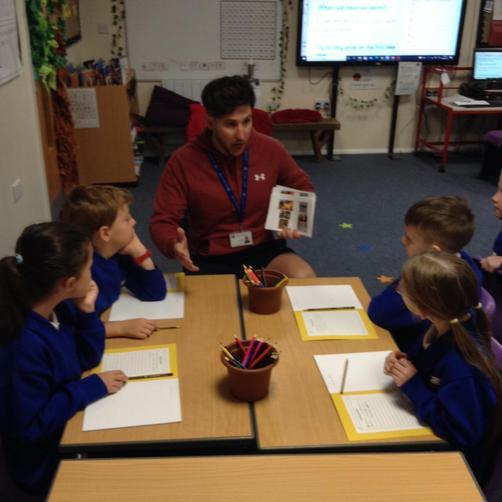 Mr James - Teacher