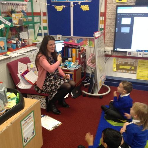 Mrs Leeson - Teacher
