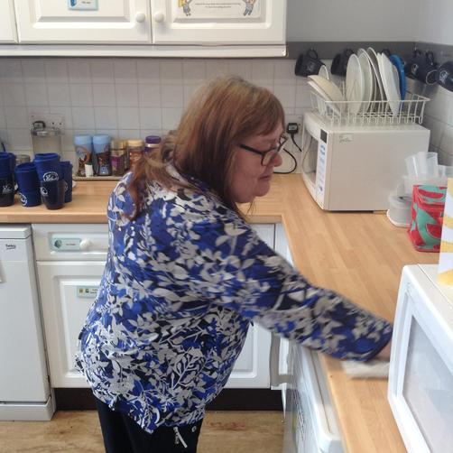 Mrs Gray - Cleaner