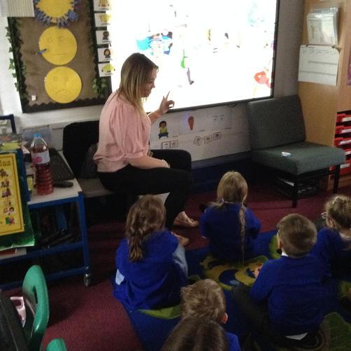 Miss Hamilton -Teacher