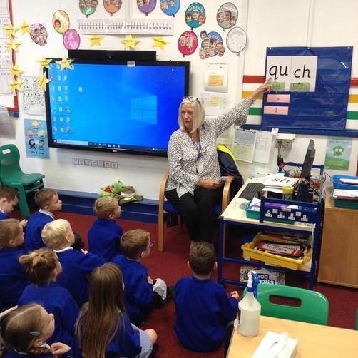 Mrs Parkes - Teacher
