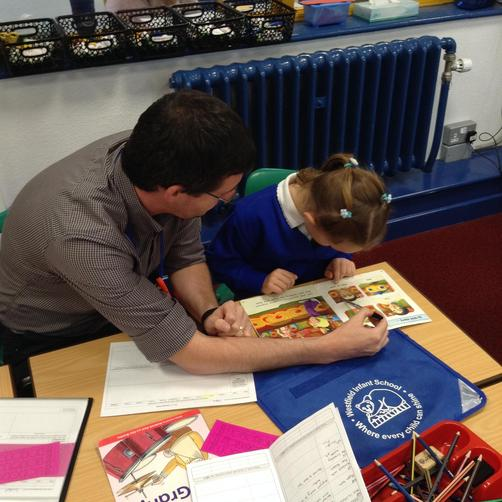 Mr Harries-Teacher