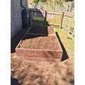 A tidy pallet ready to grow veg!