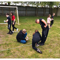 For P.E, the children had to measure and record each jump.