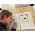 A lesson on panda drawing