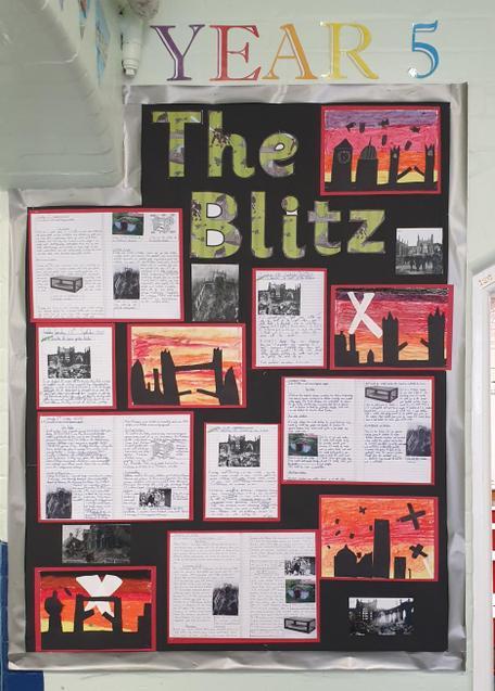 Year 5 World War II display