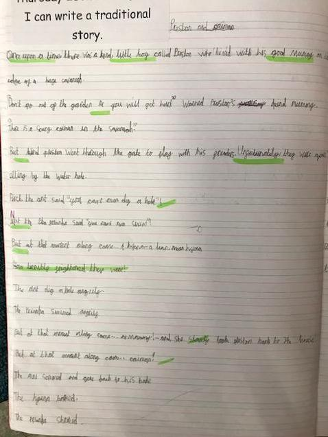 Y2 Traditional Tale 1