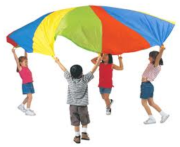 Y1/2 Parachute games