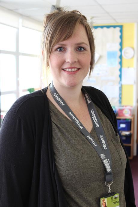 Mrs Stevenson (TA)