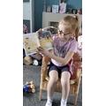 Sophia-Rose reading.