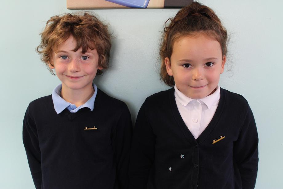 Y2 Caleb and Ava