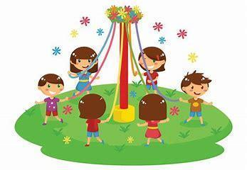 Tuesday Year 3 and 4 Maypole Dancing
