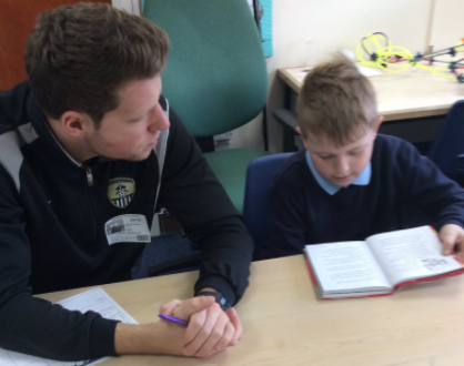 Notts county reading with children