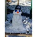 Mrs Mitchell's snowman!