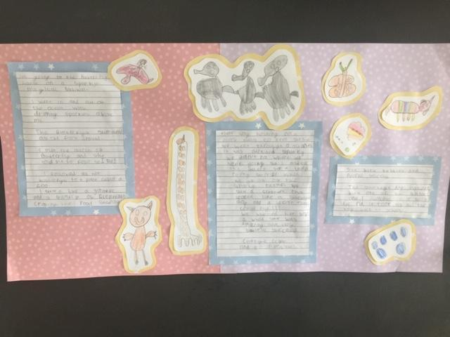 Kacey's butterfly house recount! Well done.
