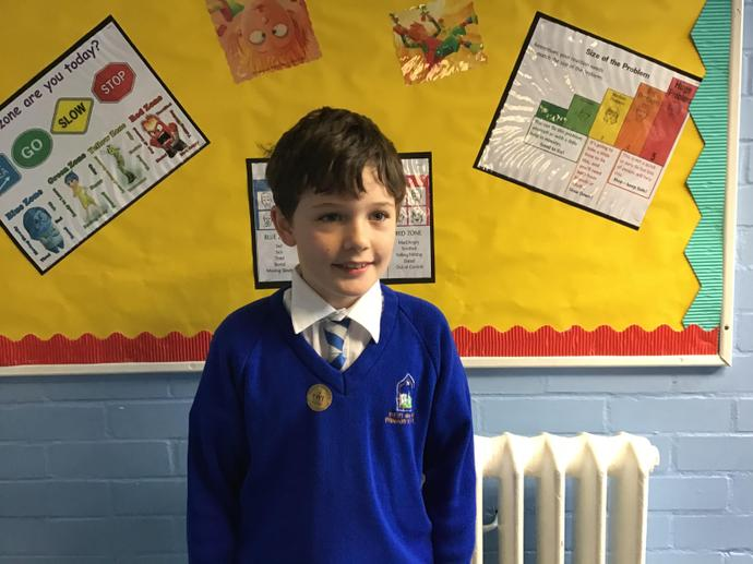 Congratulations on being the Learner of the Term for Willow Class.
