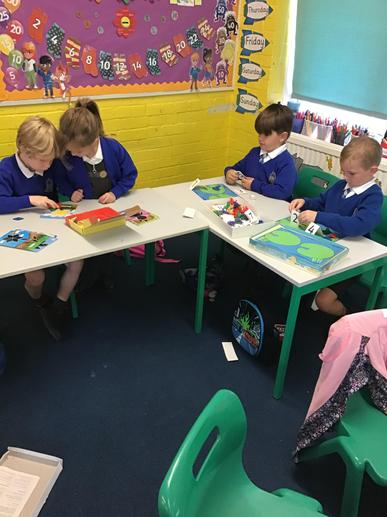 Using different maths activities